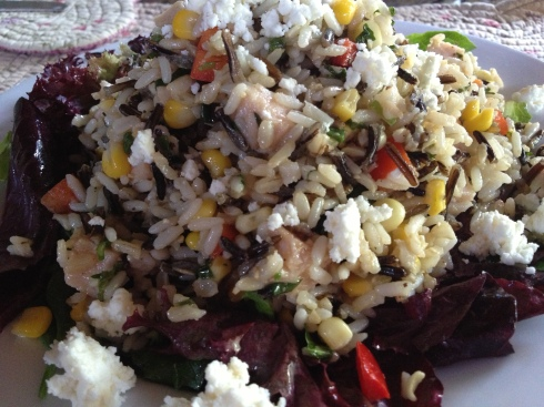 Southwest Salad of Three Rices
