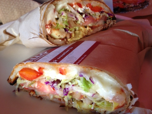 Vegetarian Fhazani Sandwich