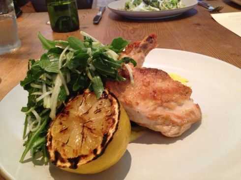 Pan Roasted Half Chicken