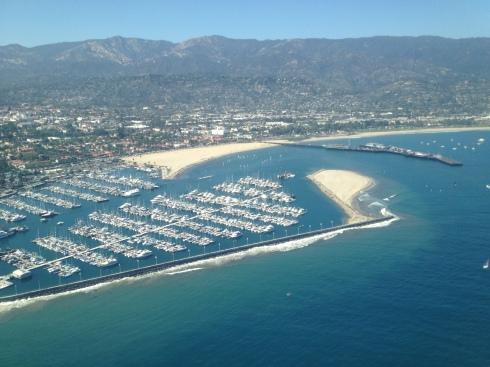 Aerial View of Santa Barbara
