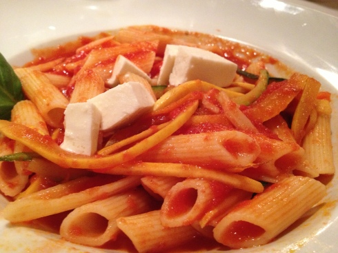 Penne with Tomato Sauce