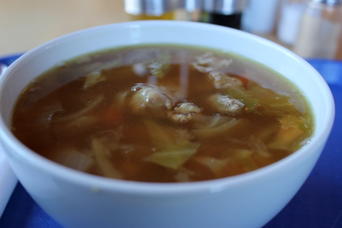 Traditional Icelandic Meat Soup