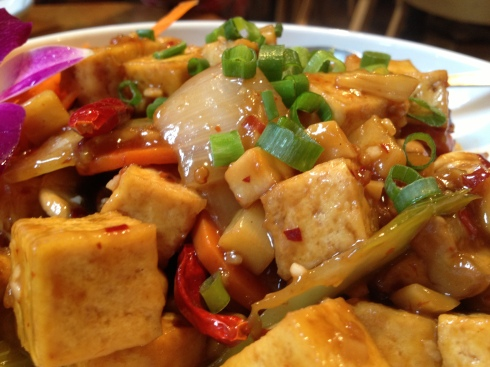 Kung Pao Tofu and Vegetables