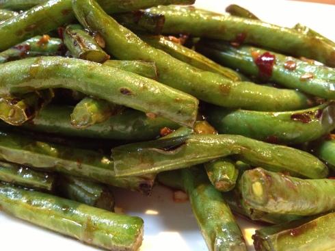 Dry-Sautéed  String Beans