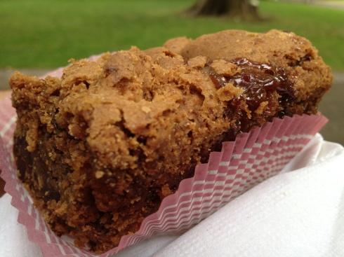 Salted Caramel Cookie Bar