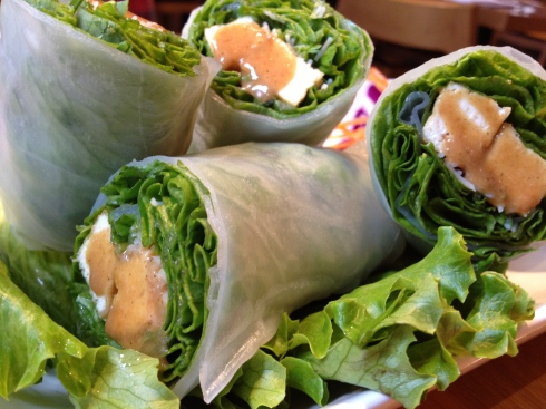 Tofu Salad Rolls