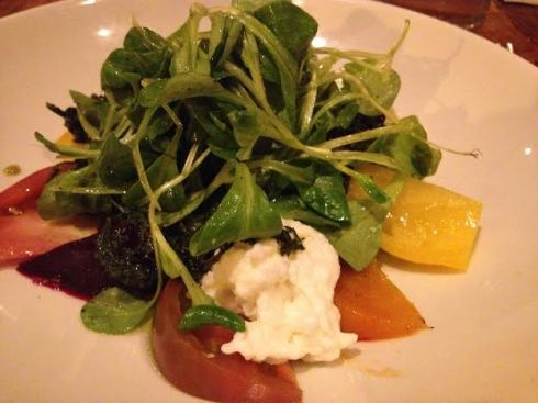 Beets and Heirloom Tomato Salad