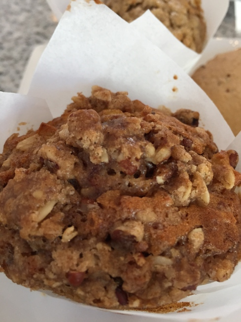 Apple Crisp Muffin