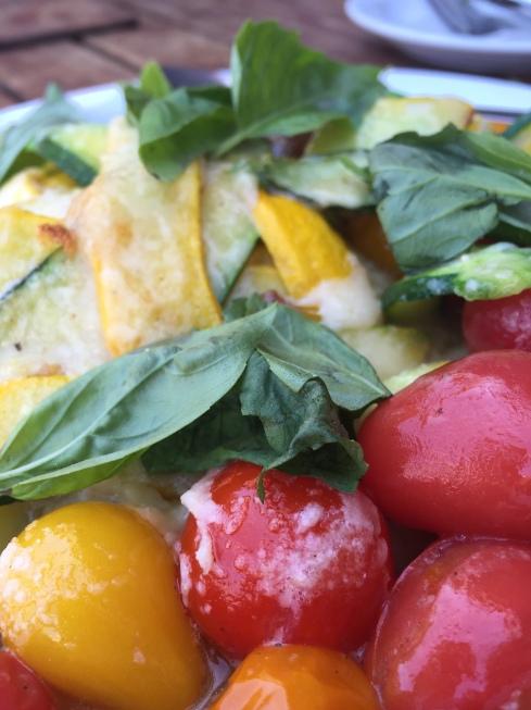Zucchini Tomato Gratin